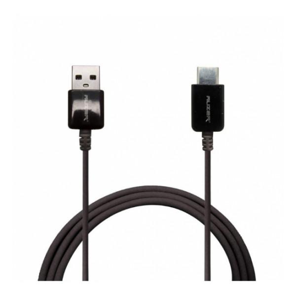 Дата-кабель USB - Type C (черный) - Auzer   Фото 1