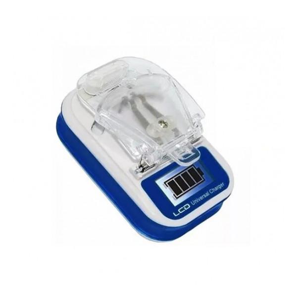 """Сетевая зарядка универсальная """"Лягушка"""" для всех типов аккумуляторов с LCD дисплеем - Navitoch   Фото 1"""