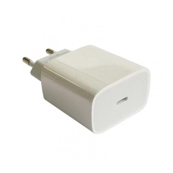 Сетевая зарядка универсальная с Type-C выходом (20W PD) White - COTEetCI   Фото 1