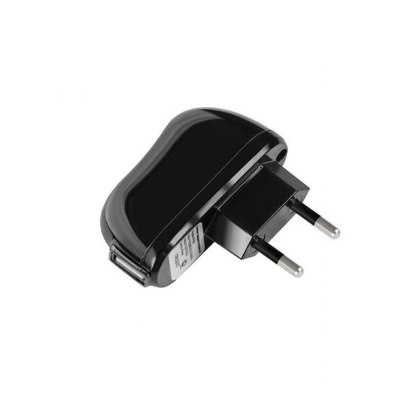 Сетевая зарядка универсальная с USB выходом (2.1A) Black - Deppa | Фото 1