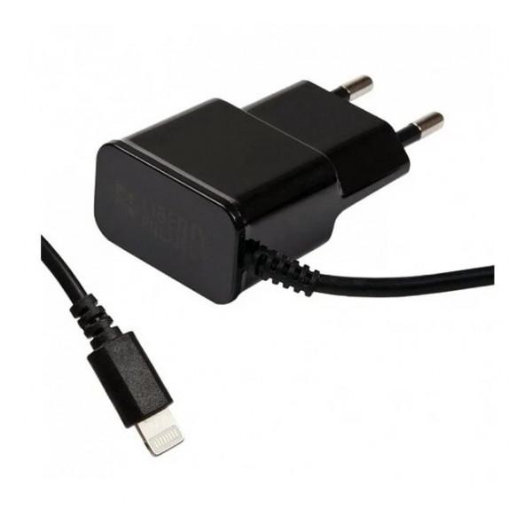 Зарядка сетевая для телефона Apple iPhone XS (2.1A - Black) - LP | Фото 1