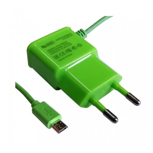 Зарядка сетевая для планшета alcatel 1T 10 (1A - Green) - LP | Фото 1