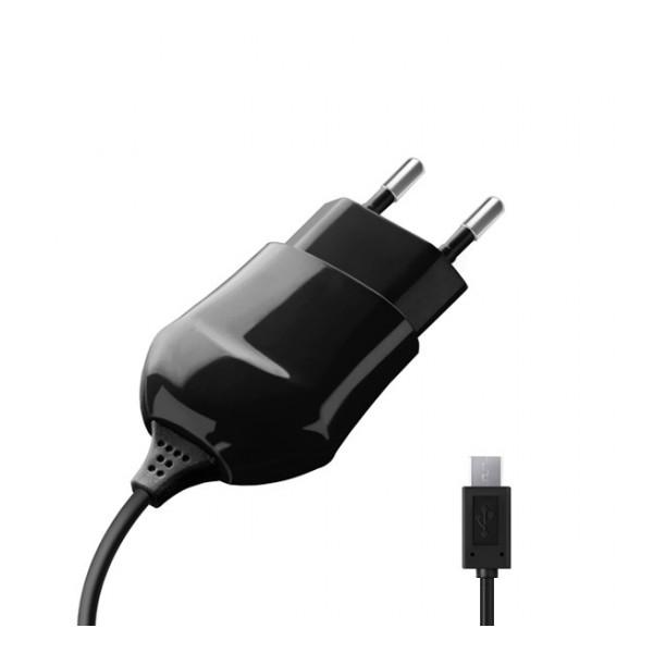 Сетевое зарядное устройство Mini USB - 1A - Black - Deppa | Фото 1