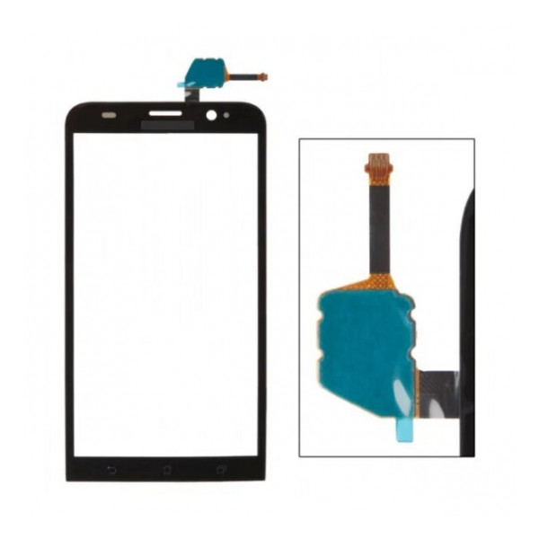 Тачскрин для телефона Asus Zenfone 2 ZE551ML (черный)   Фото 1