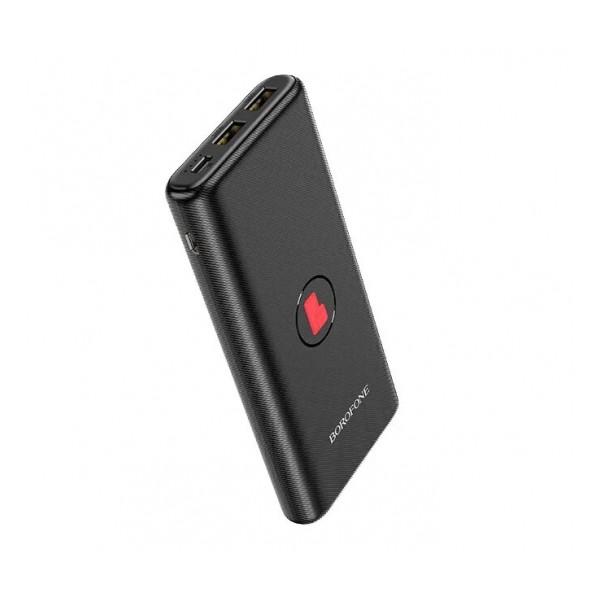 Универсальное зарядное устройство - Внешний аккумулятор Borofone BT31 Winner - 10000 мАч черный | Фото 1