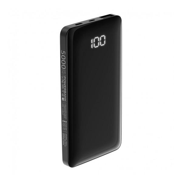 Универсальное зарядное устройство - Внешний аккумулятор Olmio FS-5 5000 мАч черный | Фото 1