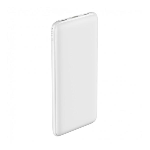 Универсальное зарядное устройство - Внешний аккумулятор Olmio Slim 10000 мАч белый   Фото 1